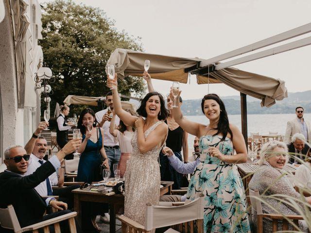 Il matrimonio di James e Valentina a Orta San Giulio, Novara 12