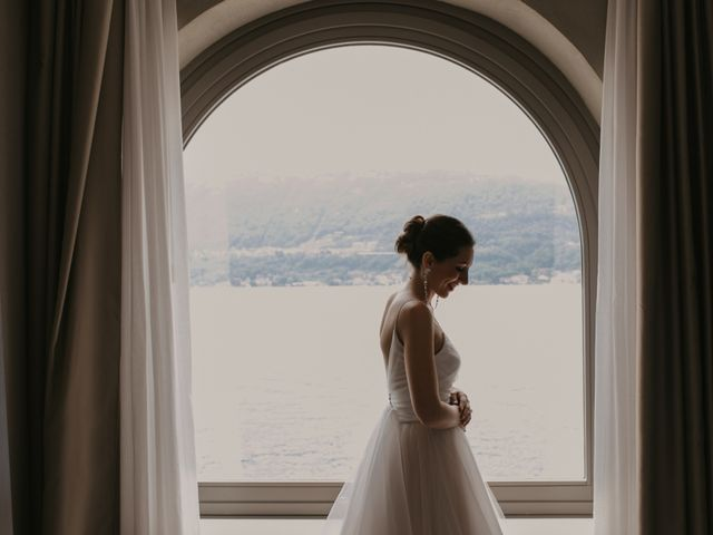 Il matrimonio di James e Valentina a Orta San Giulio, Novara 22