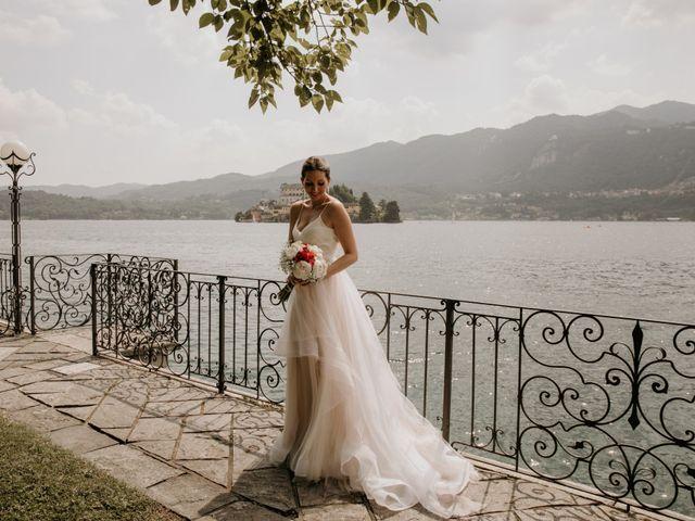 Il matrimonio di James e Valentina a Orta San Giulio, Novara 23
