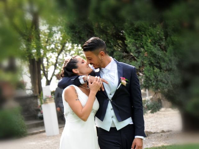 Le nozze di Giorgia e Gianluca