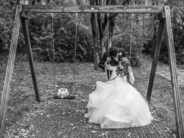 Il matrimonio di Simone e Barbara a Montichiari, Brescia 37