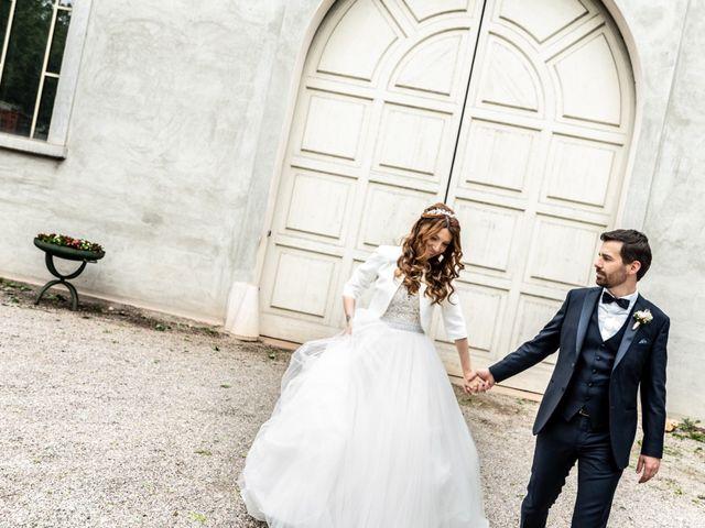 Il matrimonio di Simone e Barbara a Montichiari, Brescia 43
