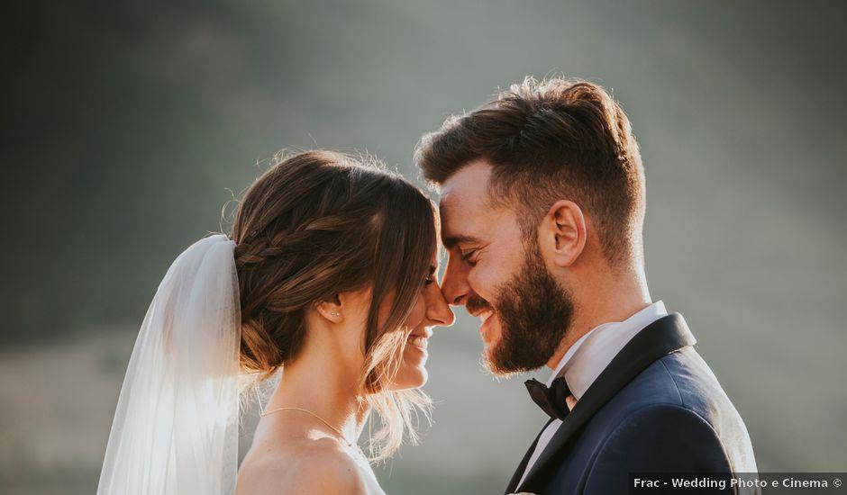 Il matrimonio di Mattia e Francesca a Arcevia, Ancona