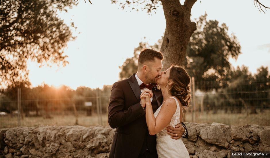 Il matrimonio di Stefano e Sara a Crispiano, Taranto
