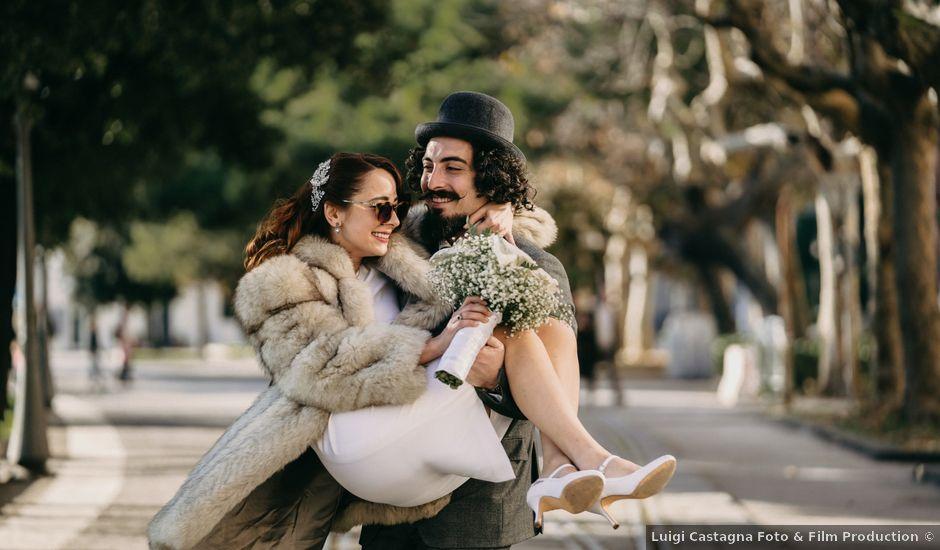 Il matrimonio di Antonio e Patricia a Salerno, Salerno
