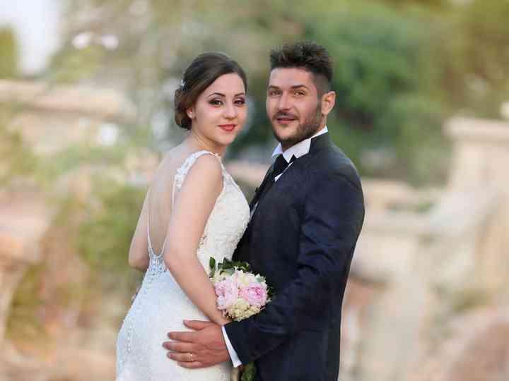 le nozze di Antonella e Rodolfo
