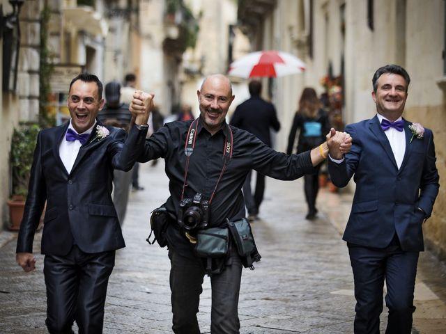 Il matrimonio di Mario e Nico a Lecce, Lecce 40