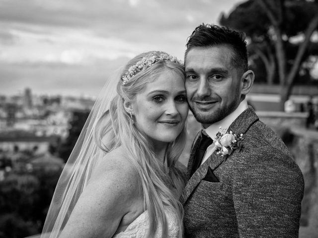 le nozze di Laura e Garret