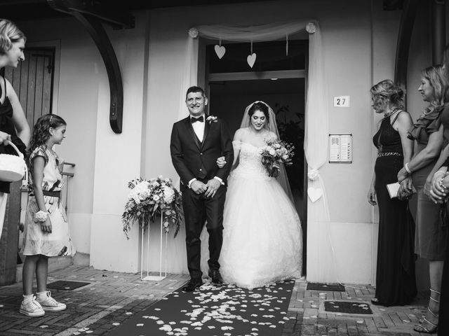 Il matrimonio di Tina e Andrea a Rio Saliceto, Reggio Emilia 34