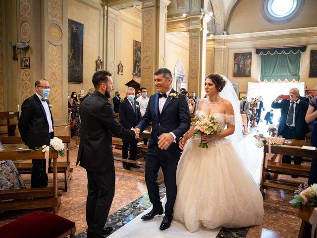 Il matrimonio di Tina e Andrea a Rio Saliceto, Reggio Emilia 56