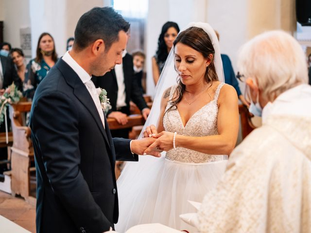 Il matrimonio di Alessio e Sabrina a Città della Pieve, Perugia 25