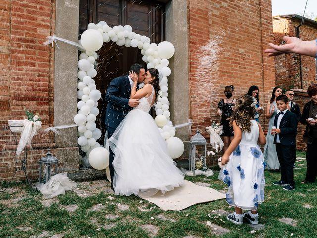 Il matrimonio di Alessio e Sabrina a Città della Pieve, Perugia 28
