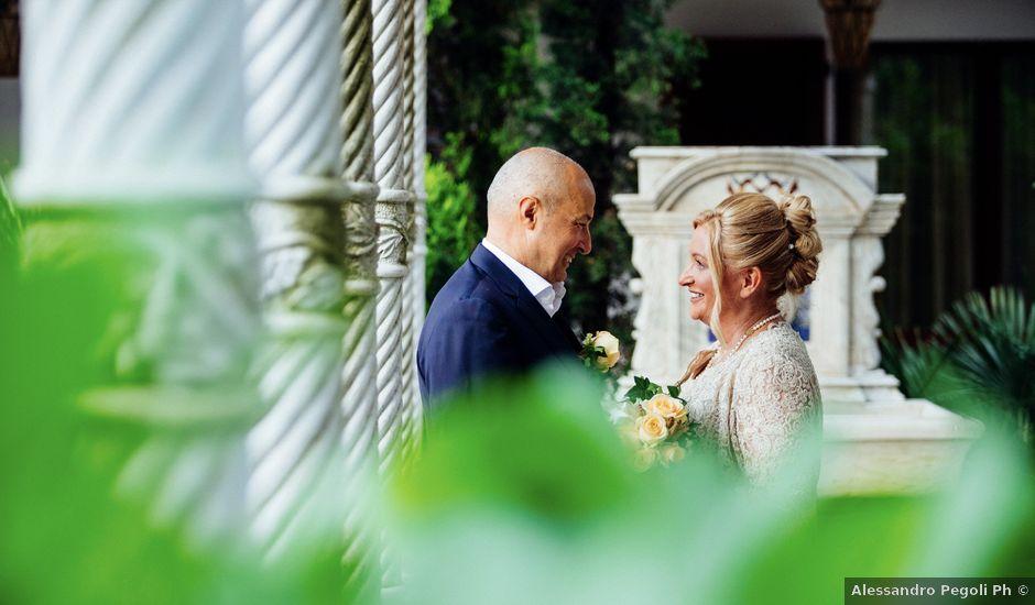 Il matrimonio di Enrico e Monica a Marudo, Lodi
