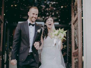 Le nozze di Kathleen e Roberto