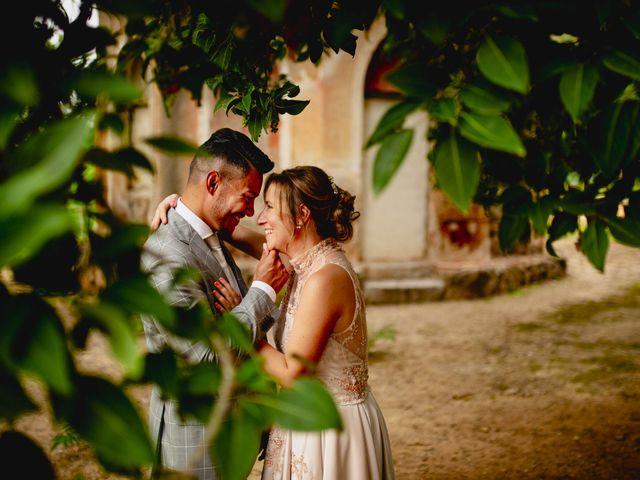 le nozze di Miriam e Cristian