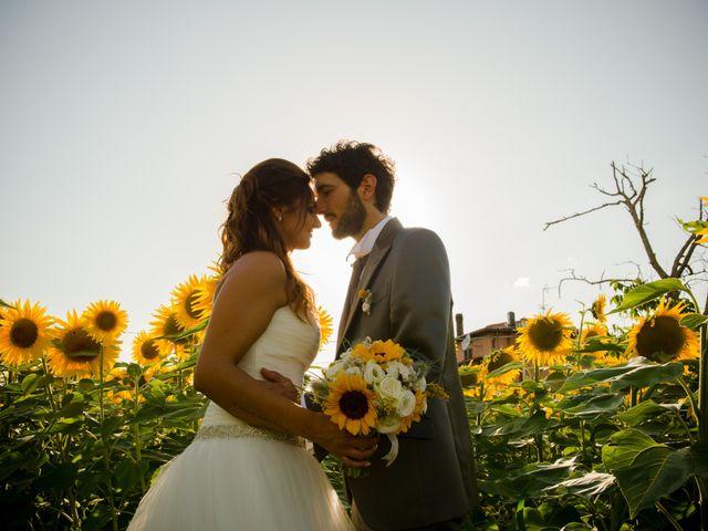 le nozze di Giulia e Denis