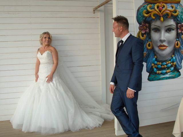 Il matrimonio di Vincenzo e Vanessa a Trapani, Trapani 35