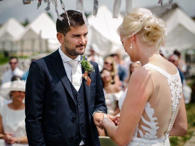 Il matrimonio di Rahim e Arlene a Erbezzo, Verona 32