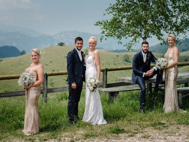 Il matrimonio di Rahim e Arlene a Erbezzo, Verona 45