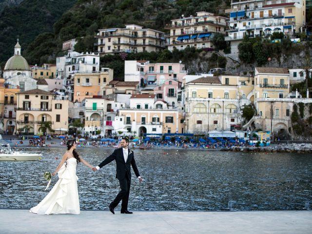 Il matrimonio di Luigi e Amalia a Vietri sul Mare, Salerno 27