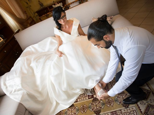 Il matrimonio di Emiliano e Roberta a Ferno, Varese 11