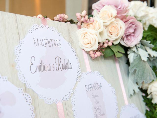 Il matrimonio di Emiliano e Roberta a Ferno, Varese 28