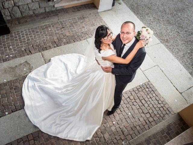 Il matrimonio di Emiliano e Roberta a Ferno, Varese 2