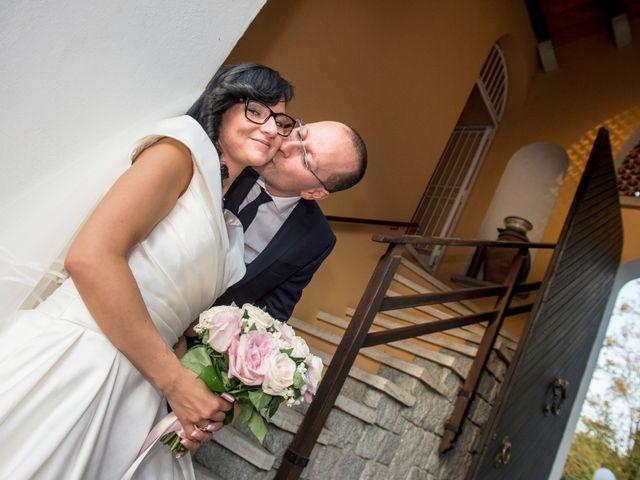 Il matrimonio di Emiliano e Roberta a Ferno, Varese 29