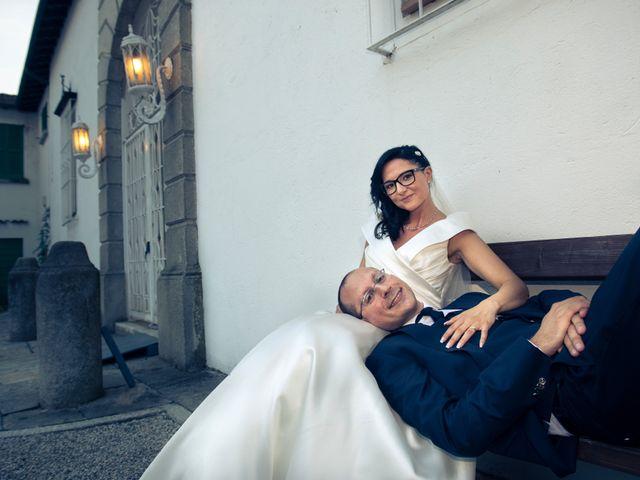 Il matrimonio di Emiliano e Roberta a Ferno, Varese 33