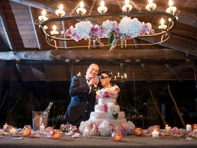 Il matrimonio di Emiliano e Roberta a Ferno, Varese 53