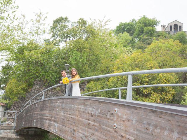 Il matrimonio di Davide e Daniela a Besozzo, Varese 7