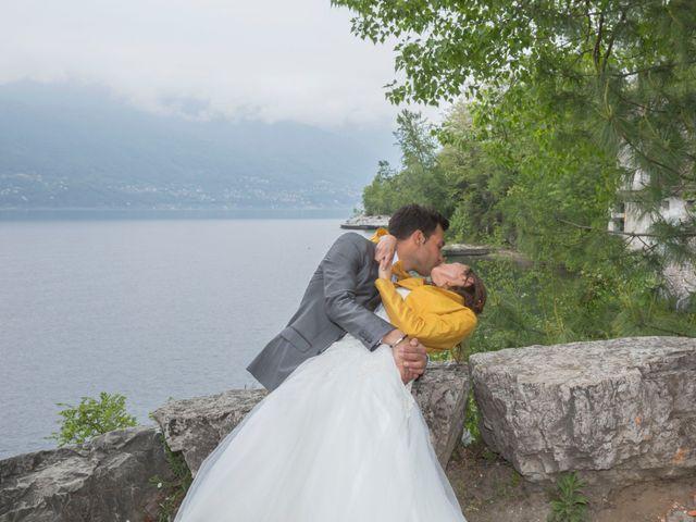 Il matrimonio di Davide e Daniela a Besozzo, Varese 13