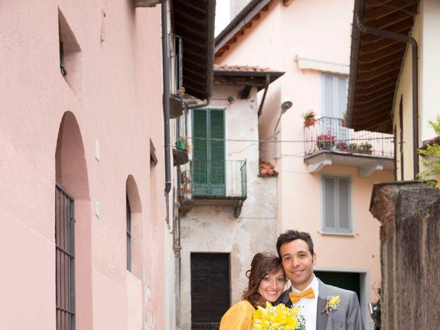 Il matrimonio di Davide e Daniela a Besozzo, Varese 14