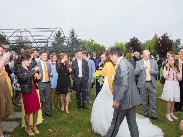 Il matrimonio di Davide e Daniela a Besozzo, Varese 16