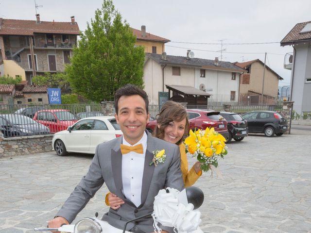 Il matrimonio di Davide e Daniela a Besozzo, Varese 32