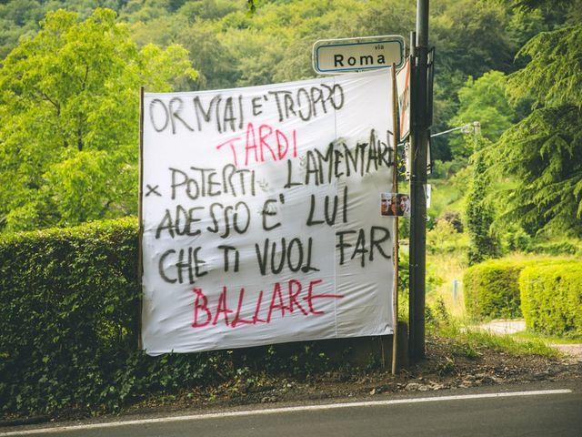 Il matrimonio di Samuele e Francesca a Marzio, Varese 22