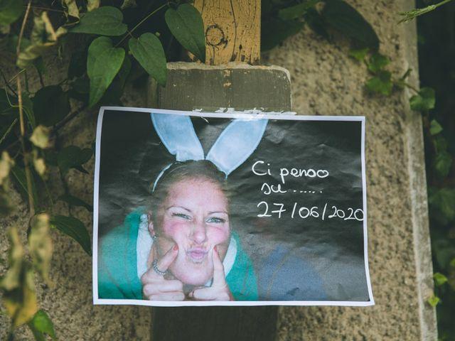 Il matrimonio di Samuele e Francesca a Marzio, Varese 23