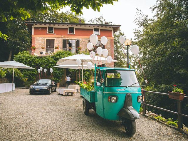 Il matrimonio di Samuele e Francesca a Marzio, Varese 35