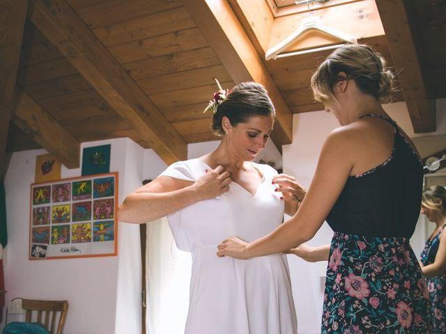 Il matrimonio di Samuele e Francesca a Marzio, Varese 38