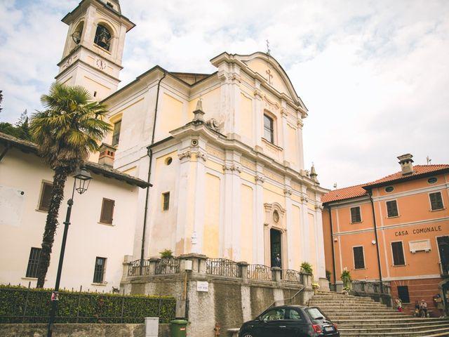 Il matrimonio di Samuele e Francesca a Marzio, Varese 49
