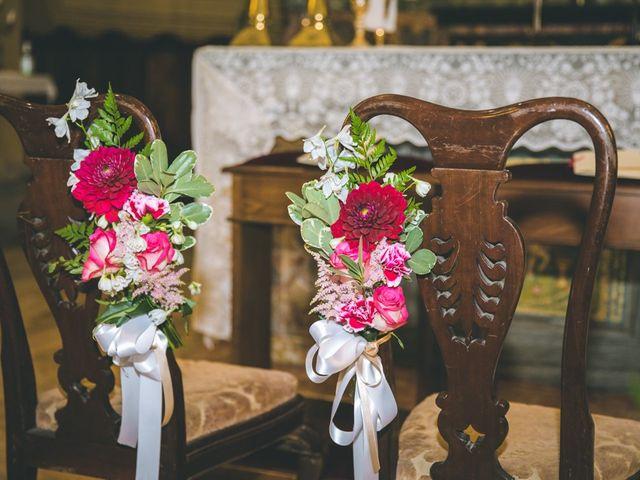 Il matrimonio di Samuele e Francesca a Marzio, Varese 53