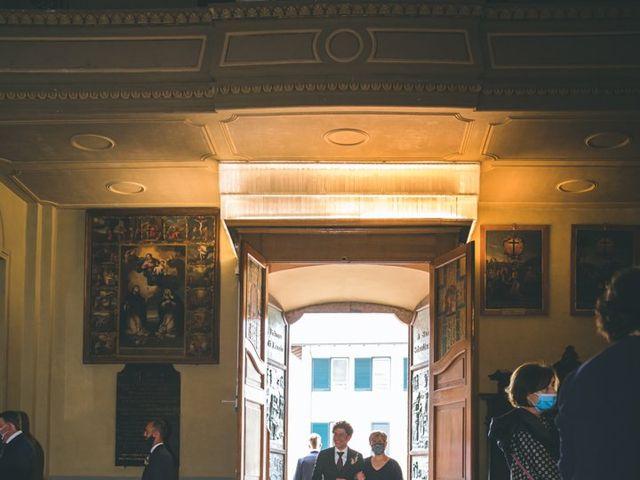 Il matrimonio di Samuele e Francesca a Marzio, Varese 57