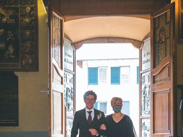 Il matrimonio di Samuele e Francesca a Marzio, Varese 58