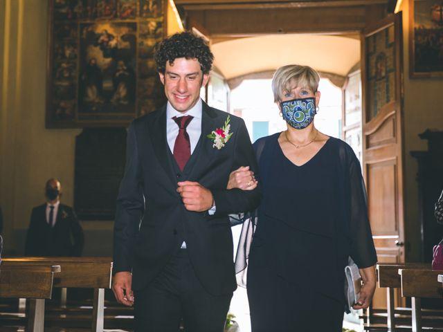 Il matrimonio di Samuele e Francesca a Marzio, Varese 59