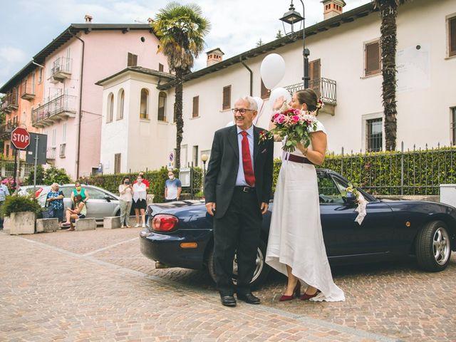 Il matrimonio di Samuele e Francesca a Marzio, Varese 61