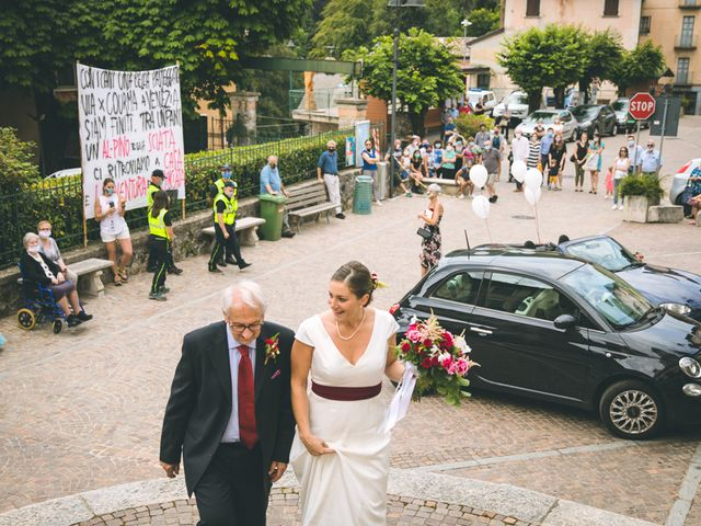 Il matrimonio di Samuele e Francesca a Marzio, Varese 63