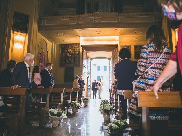 Il matrimonio di Samuele e Francesca a Marzio, Varese 64