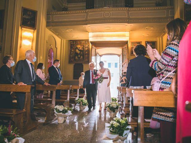 Il matrimonio di Samuele e Francesca a Marzio, Varese 66