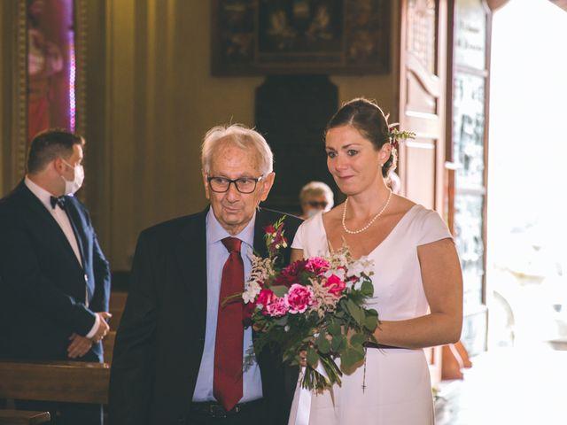Il matrimonio di Samuele e Francesca a Marzio, Varese 67