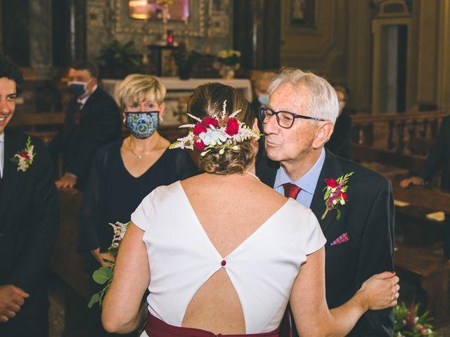 Il matrimonio di Samuele e Francesca a Marzio, Varese 68